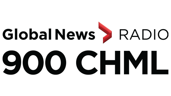 Global News Radio 900 CHML logo